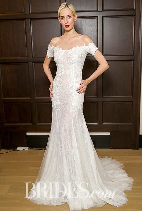 Wedding dress by Costarellos