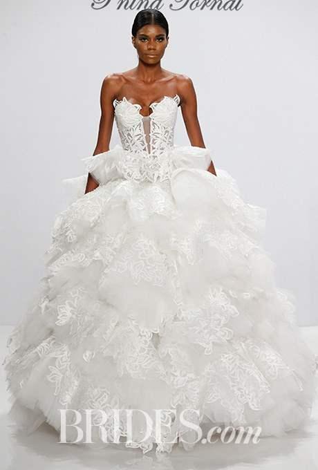 Wedding dress by Pnina Tornai for Kleinfeld